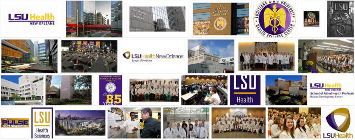 Louisiana State University Health Sciences Center New Orleans School of Medicine in New Orleans