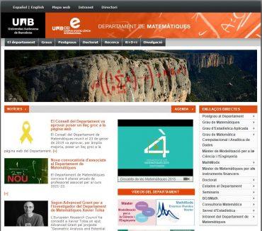 Departament de matemàtiques - UAB Barcelona