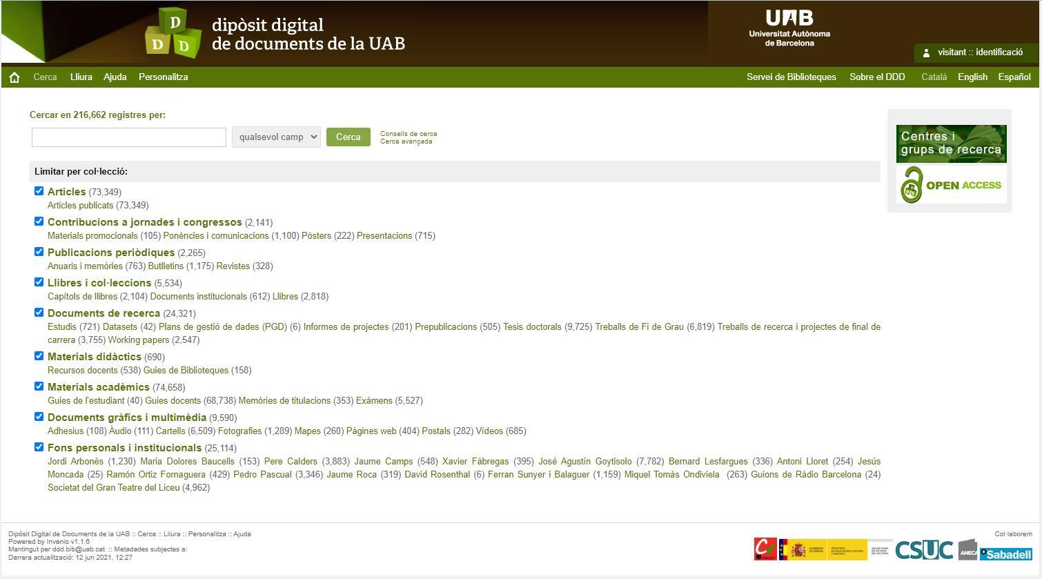 Dipòsit Digital de Documents de la UAB