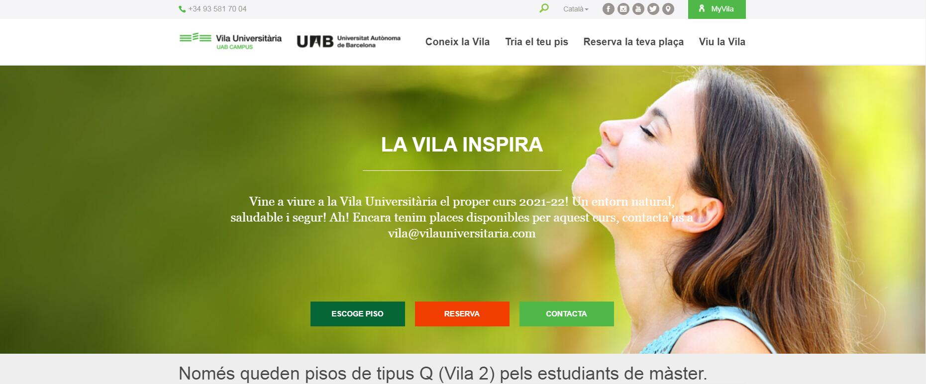 Vila Universitària Universitat Autònoma de Barcelona